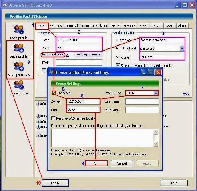 Cara Menggunakan SSH dengan Bitvise