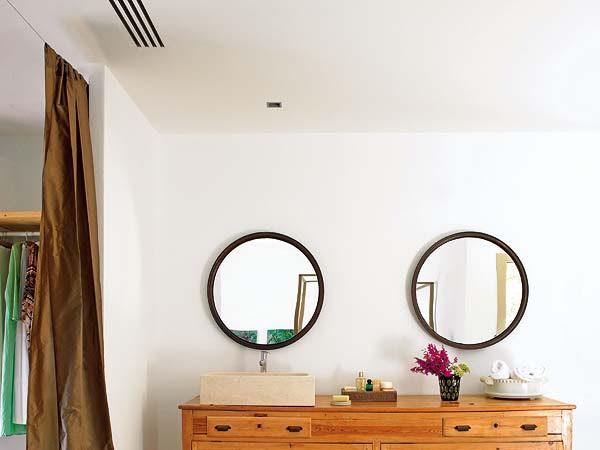 Pon un espejo en tu vida, o dos +DIY