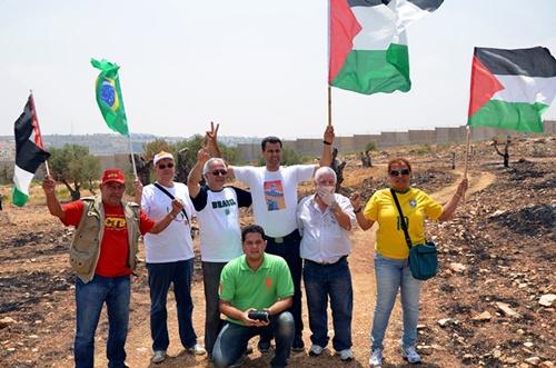 Brasileiros contra a ocupação israelense e o Muro Apartheid