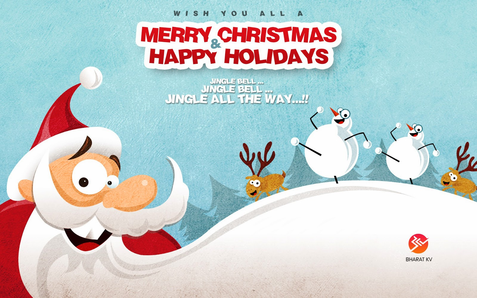 Merry christmas 2014 greetings e cards wallpapers cards for Merry christmas bilder