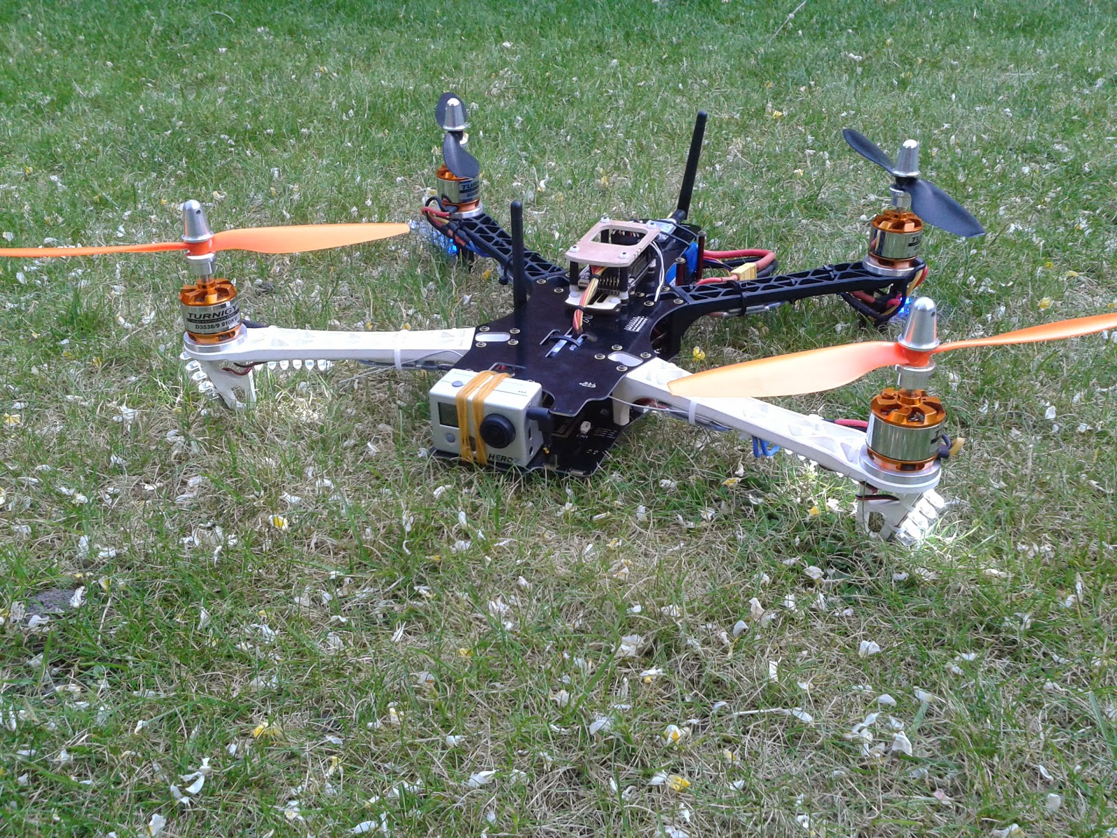 how to build a fantail drone