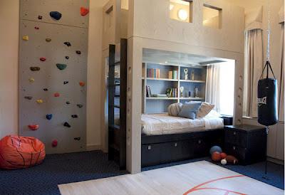 interior kamar tidur anak laki-laki