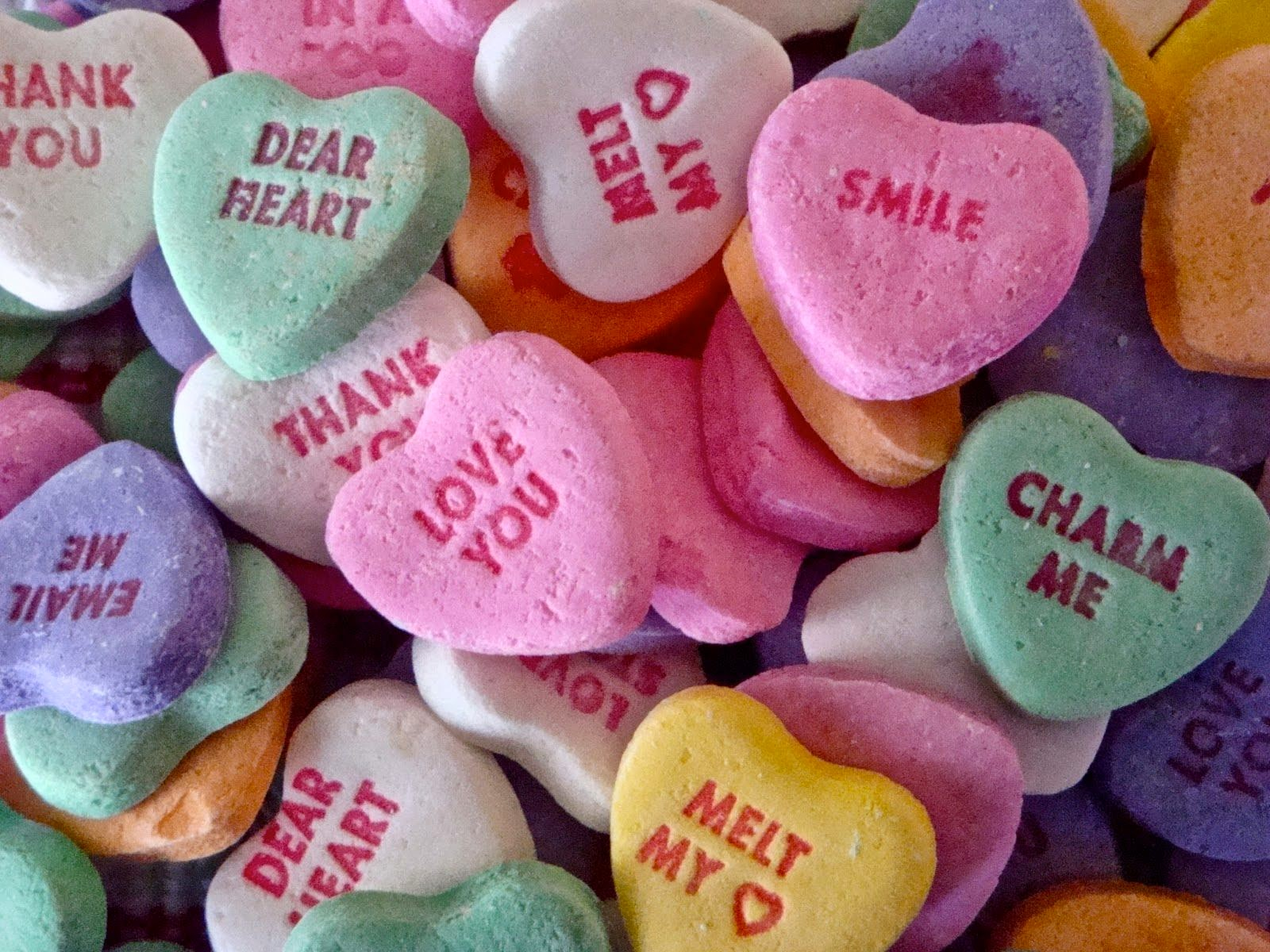Valentine Candy Hearts Images, Stock Photos & Vectors Pictures of candy heart messages