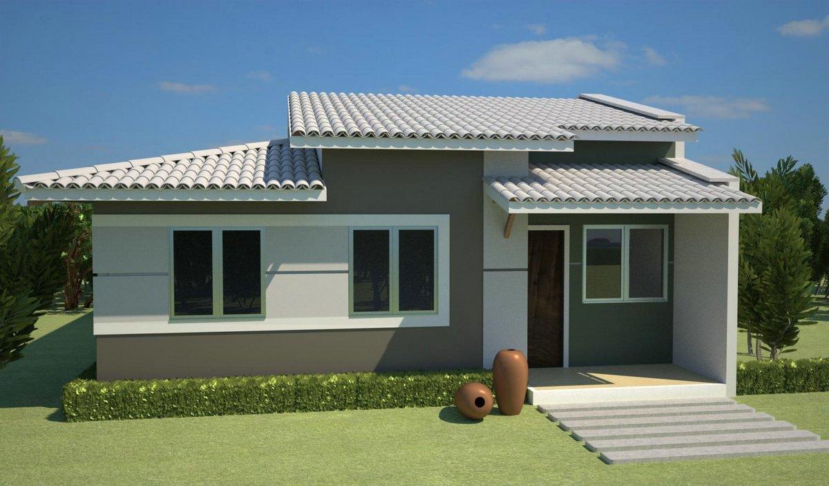 fachada de casas simples coisas pra ver