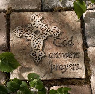 God Answers Prayer, image courtesy of christiangiftplace.com