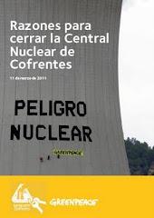 """Informe """"Razones para cerrar la Central Nuclear de Cofrentes"""""""