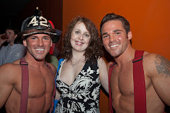 Fire fighter bachelors at PS 5th Annual Charity Date Auction