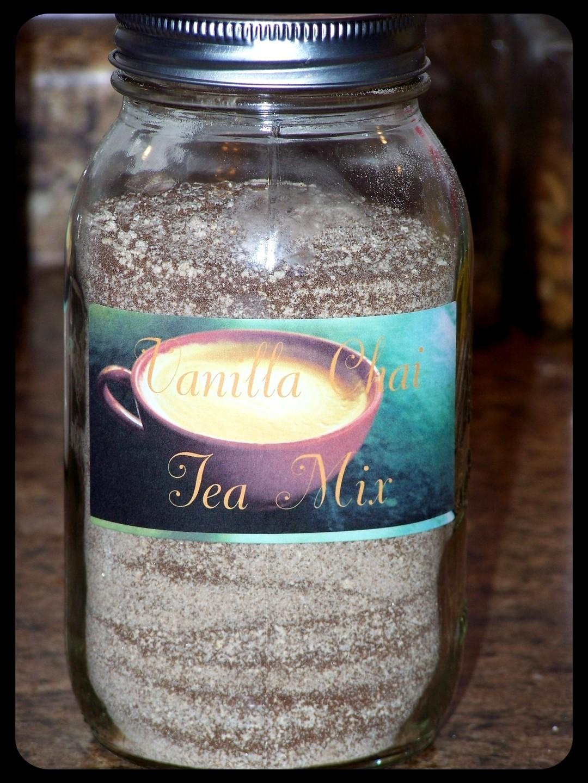 Recipe: Instant Vanilla Chai Tea Mix | Bona Fide Boho
