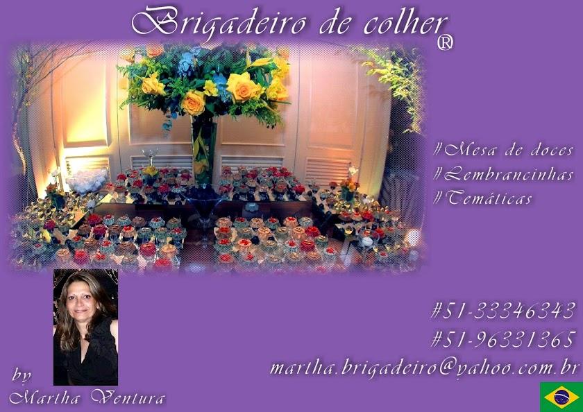 BRIGADEIRO DE COLHER by Martha Ventura