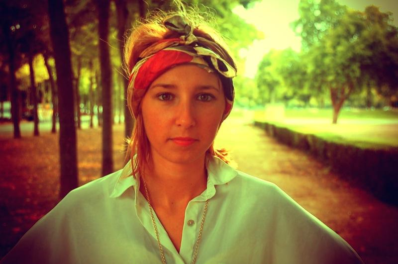 headband foulard