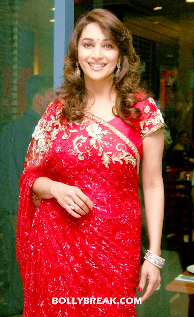 Madhuri Dixit  in Red - (3) - POLL - Who looks Hottest in Red? 