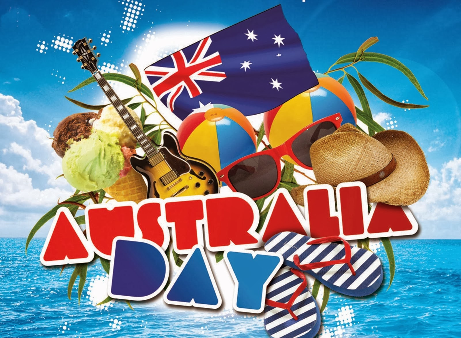 Happy Australia Day 2014 Greeting Cards Images Wishes Quotes