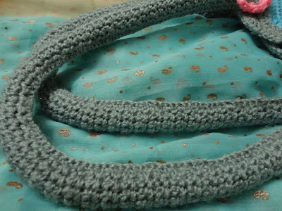 Ravelry: Leather handle carry all crochet purse 178