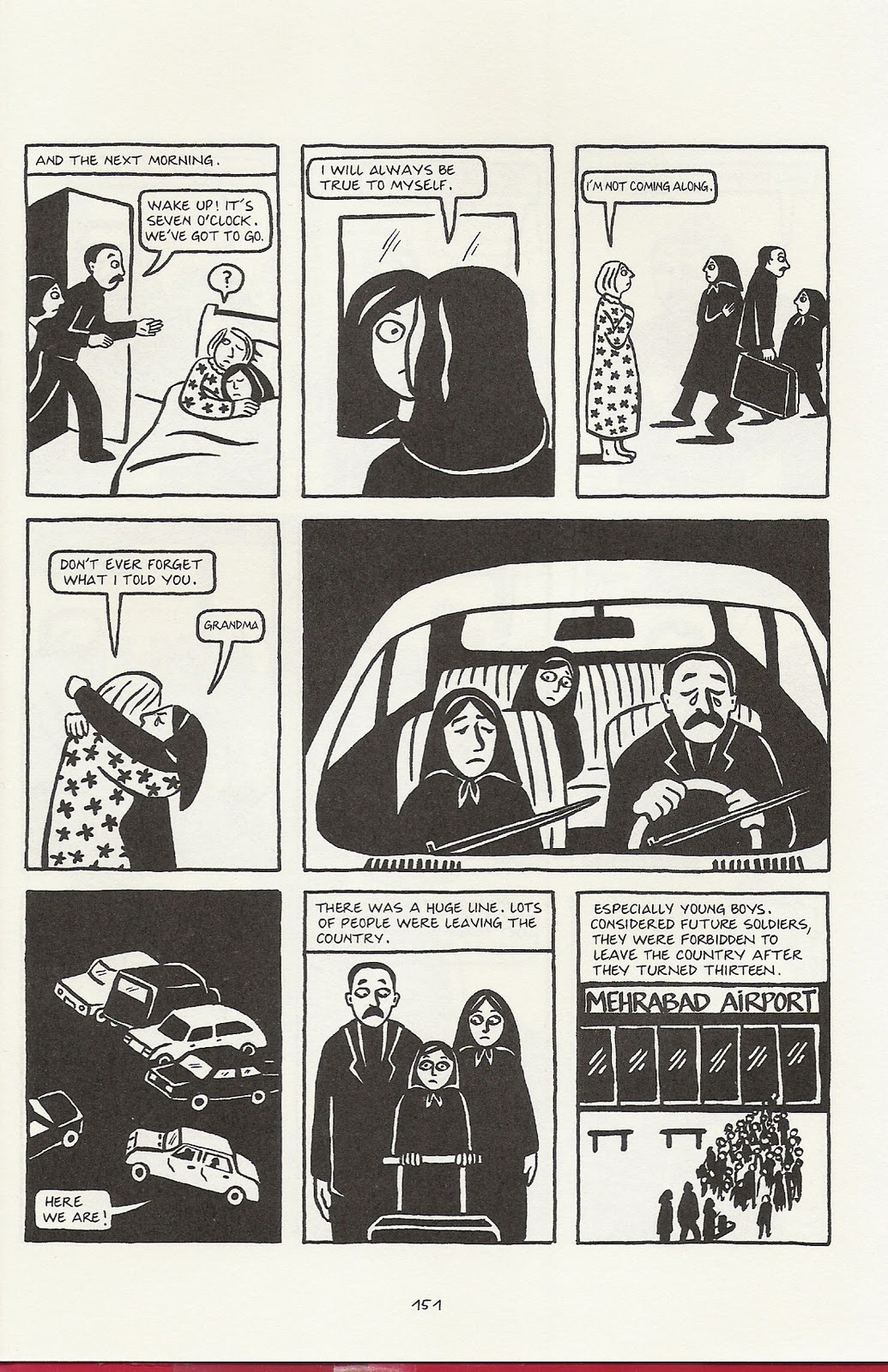 an analysis of the theme of revolution in persepolis the story of a childhood by marjane satrapi Marjane satrapi's persepolis depicts iran's islamic revolution and  the story of a childhood by marjane satrapi  analysis of language in persepolis .