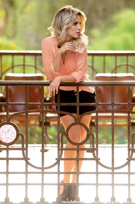 Moda 2015, blusas Marcela Koury Select primavera verano 2015.