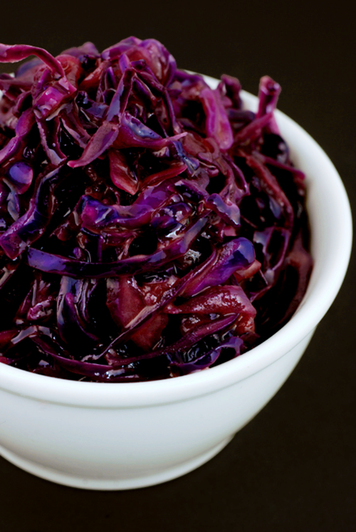 Buttered Red Cabbage
