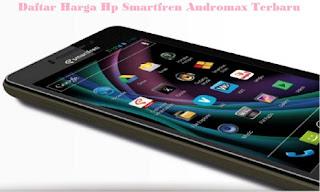 Daftar Harga Hp Smartfren Andromax Terbaru September 2015