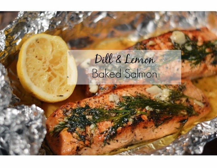 Asili Glam: Dill & Lemon Baked Salmon with Parmesan Mashed Cauliflower