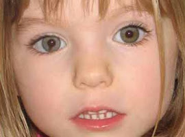 Madeleine McCann (Maddie) - Desapareceu em 2007