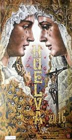 Cartel Semana Santa Huelva 2016