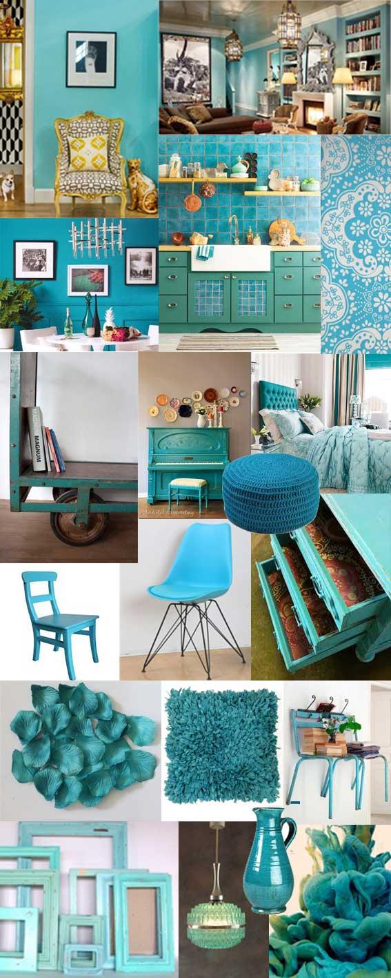 Villaxl: kleur van de maand: turquoise