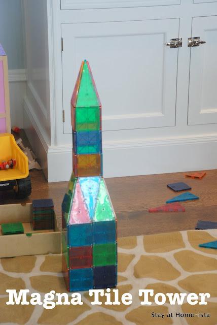 Magna Tile Tower