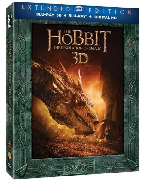Blu-ray 3D O Hobbit: A Desolação de Smaug