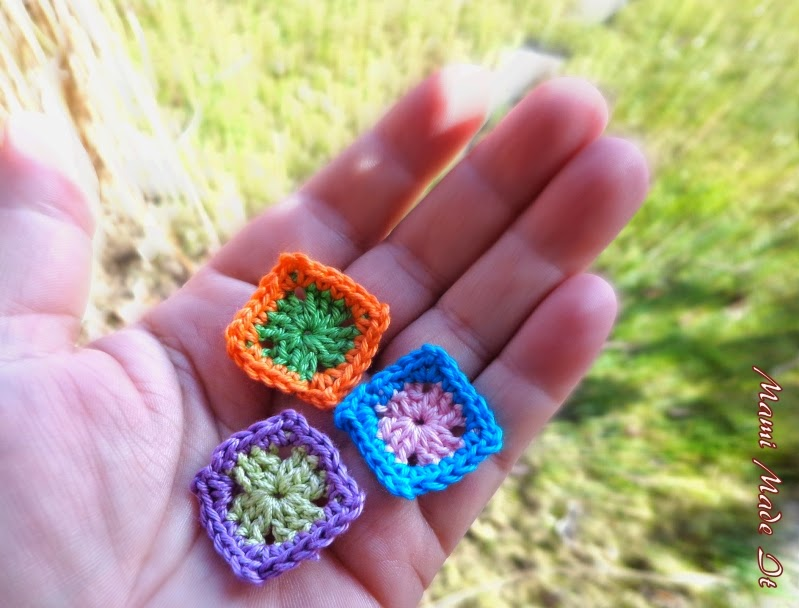 Mini Granny Squares by Mami Made It