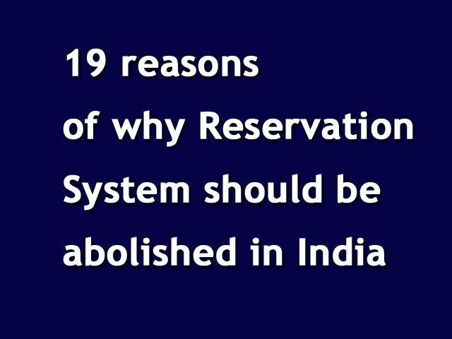 reservations in higher education India has been trying to reform its higher education system for more than a the classes of people who seek reservation in institutions argue that without.