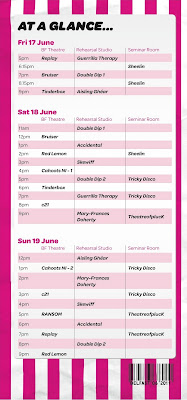 2011 programme for Pick'n'Mix festival in Belfast