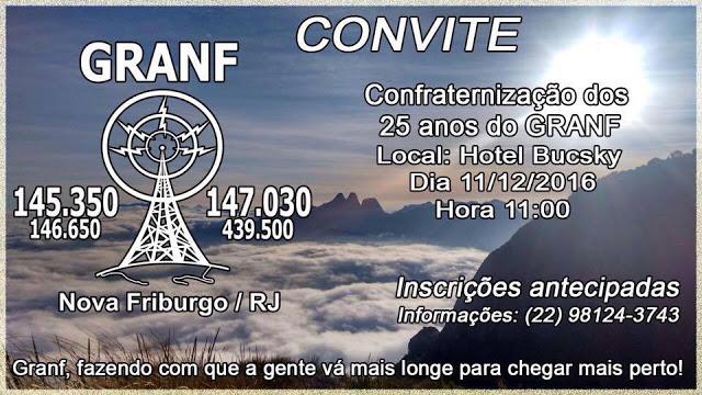 25º ANIVERSARIO DO G.R.A.N.F.