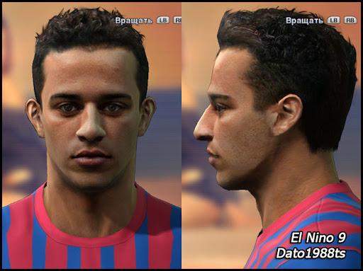 Thiago Alcantara Face by El Nino 9 & Dato
