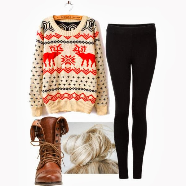 Amazing cardigan, black leggings and long brown leather boots for fall