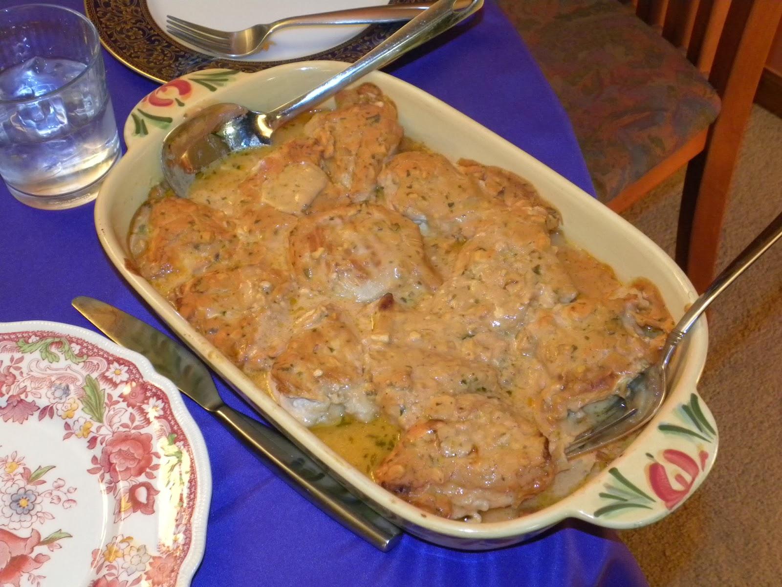Russian Chicken w/Feta (Nadya and Ken)