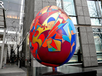 Big Easter Egg Hunt clip art
