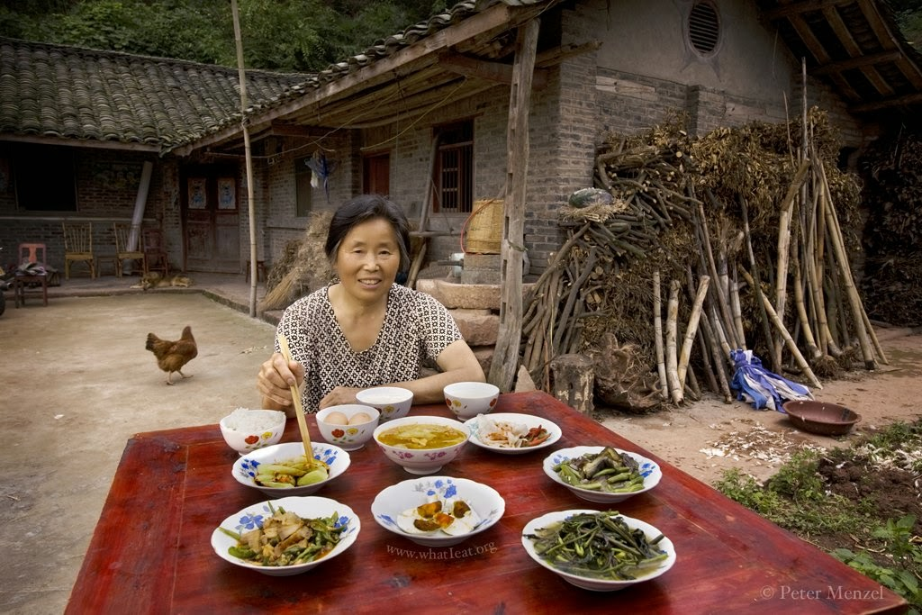 chinese farmer's diet
