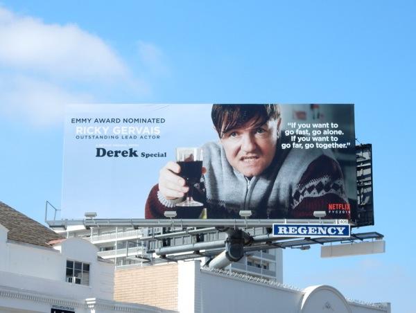 Derek Special 2015 Emmy billboard