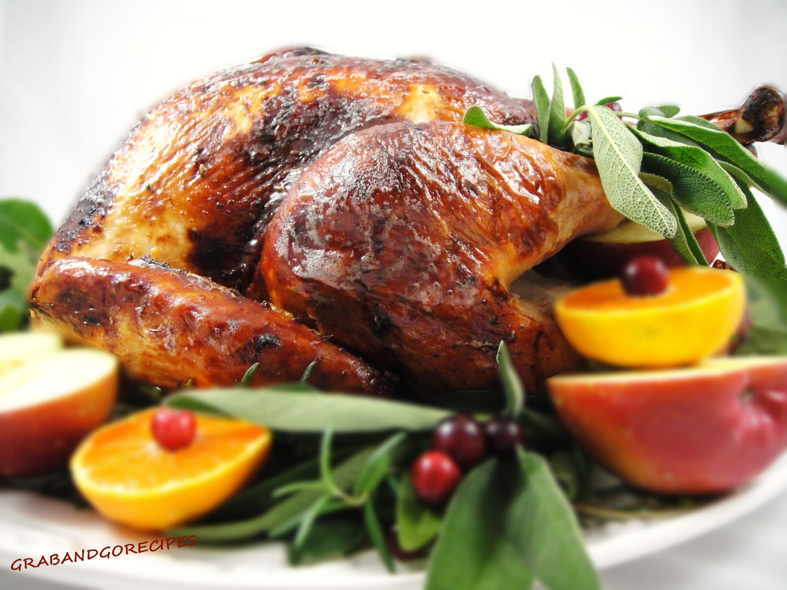 Brined Herb Roasted Turkey
