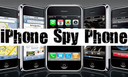 phần mềm gián điệp - theo dõi spyphone cho iphone. Ảnh: www.phanmemwebsite.com