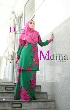 Ayu & Menawan Dengan Kurung Medina Exclusive Seindah Namanya MAsih Mengekalkan Ciri muslimah