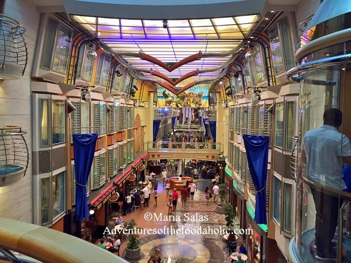Adventures Of The Foodaholic Royal Caribbean Liberty Of The Seas - Liberty of seas