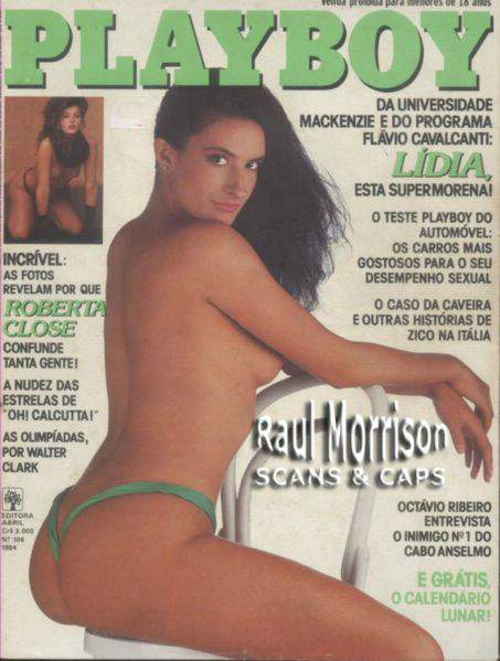 Lídia - Fotos Playboy 1984