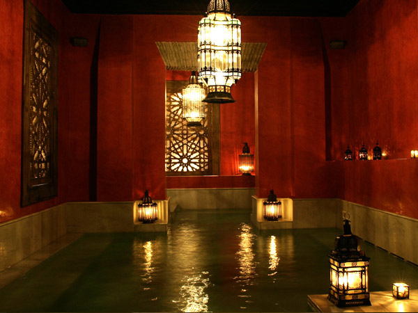 Baño Arabe En Almeria:Arab Baths Seville Spain