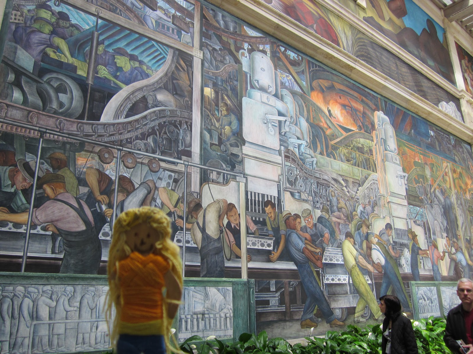 Dia diego rivera court string girl sees the world for Diego rivera dia mural