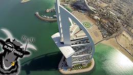 DUBAI VISTA AÉREA desde un dron. Mayo 14