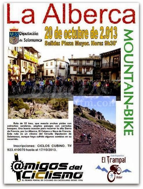 Entresierras revista digital salamanca ruta mtb la for La alberca salamanca como llegar