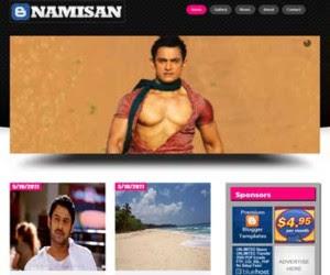 NamiSan Blogger Template