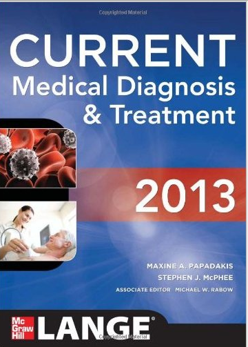Internal medicine books free download,Current Medical Diagnosis and Treatment 2013 free download