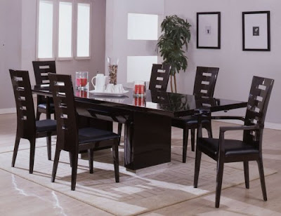 Contemporary Furniture Online on House Decorations  Contemporary Modern Dining Room Furniture   Modern