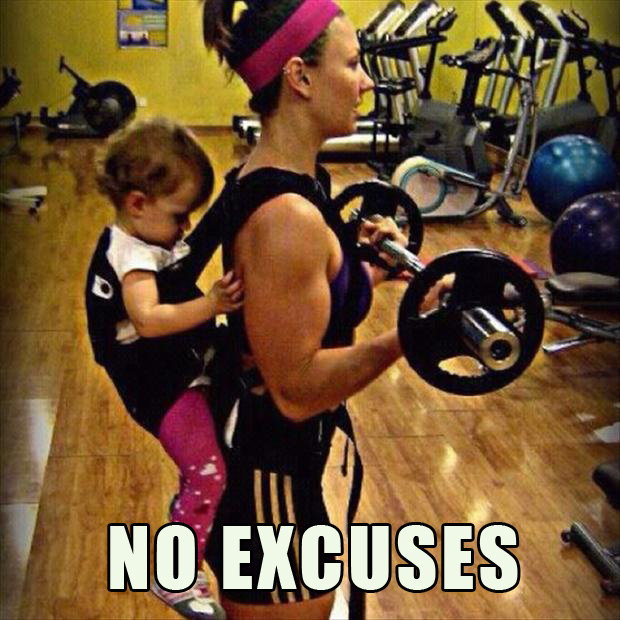No Excuses Workout Gym Quotes. QuotesGram